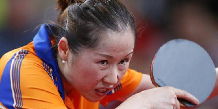 Li Jie in kwartfinales EK tafeltennis