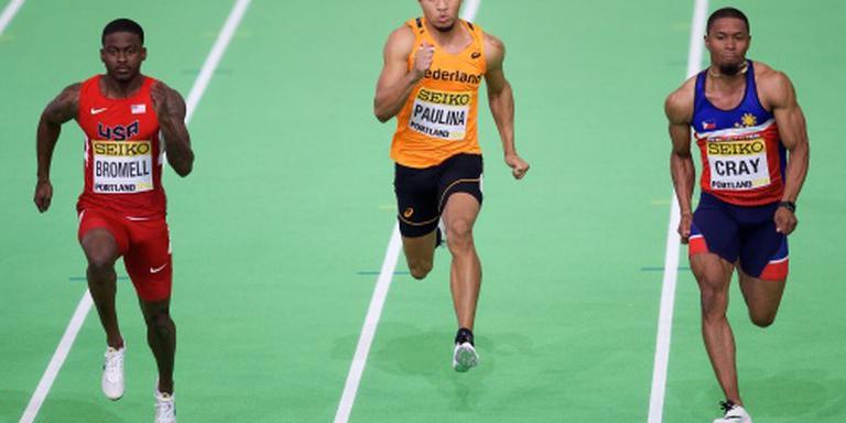 Paulina uitgeschakeld in halve finale 60 meter