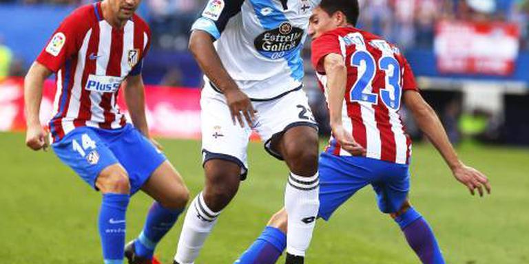 Babel met Deportivo gelijk tegen Valencia