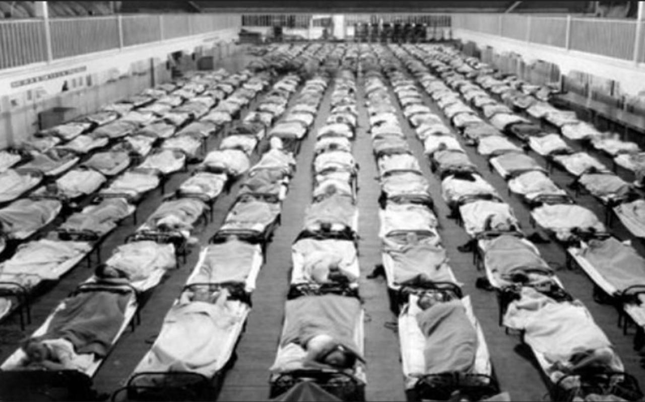 De Spaanse Griep - griep 2020
