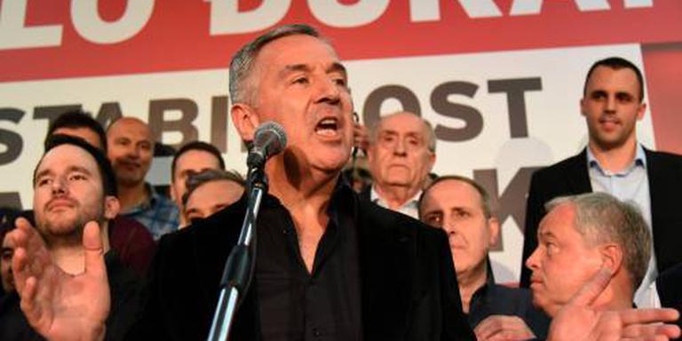 Djukanovic weer president Montenegro