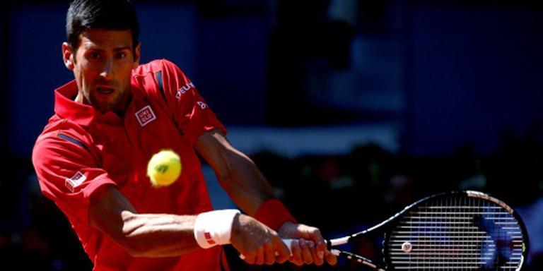 Djokovic boekt zege op gravel