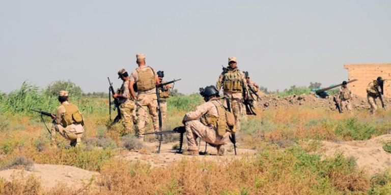 Leger vindt massagraf bij Fallujah