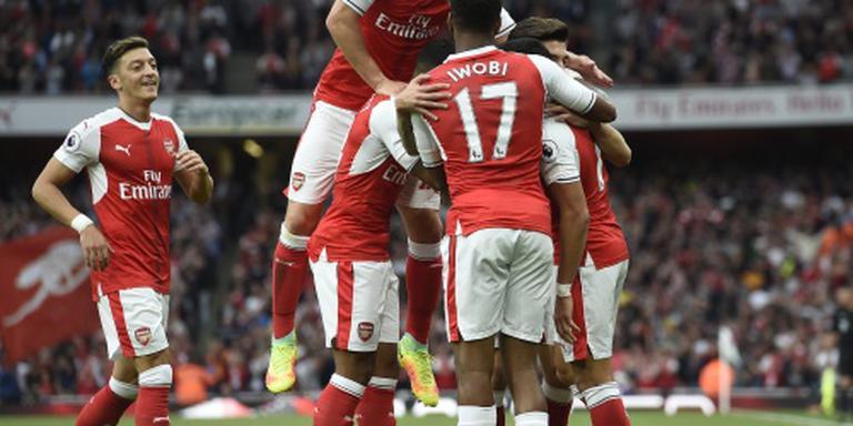 Arsenal vernedert Chelsea