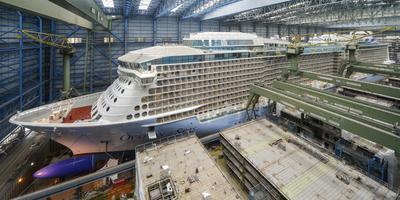 Ovation of the Seas eerder uit dok. FOTO: INGRID FIEBAK-KREMER