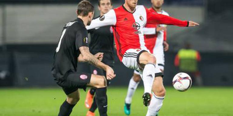 Feyenoord zet forse stap richting overwinteren