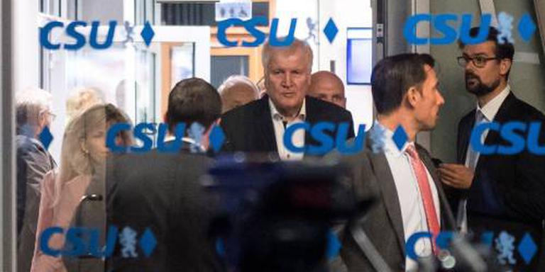 'Minister Seehofer bereid tot opstappen'