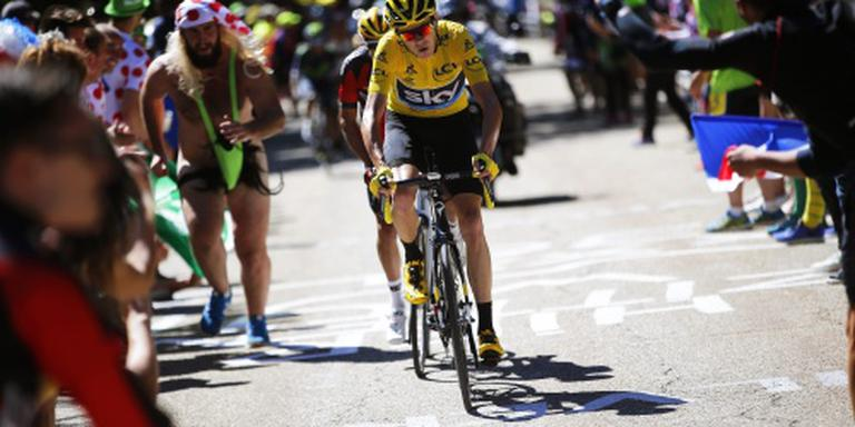 Froome wacht beslissing jury af