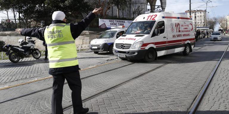 Doden en gewonden bij aanslag in Istanbul