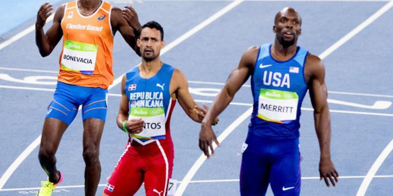 Bonevacia loopt finale 400 meter mis