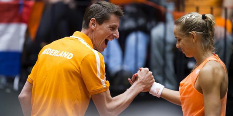 Rus naar halve finales NK tennis