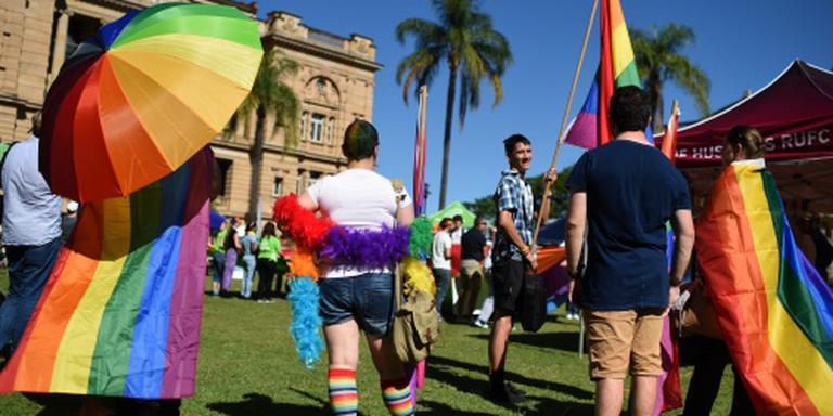 Homohuwelijk Australië voorlopig van de baan
