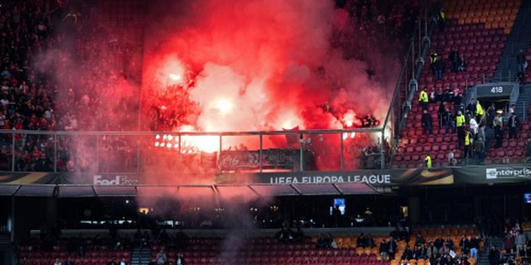 Standard Luik baalt van eigen fans