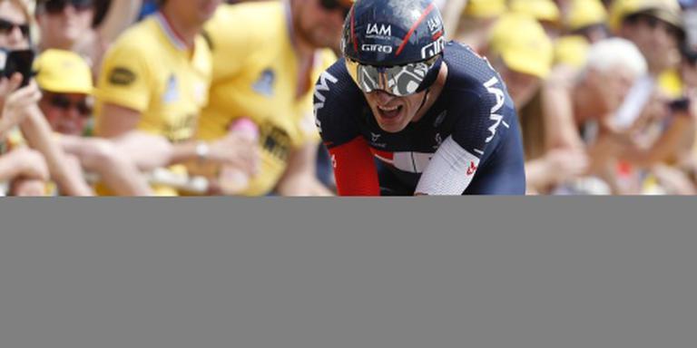 Clement rijdt Tour
