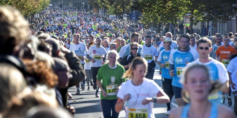 4 Mijl: De deelnemers. Foto: Archief DvhN