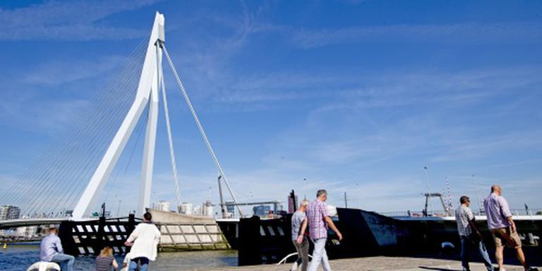 Buitenlandse toeristen stromen naar Rotterdam