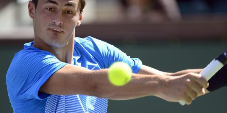 Tennisser Tomic tergt publiek