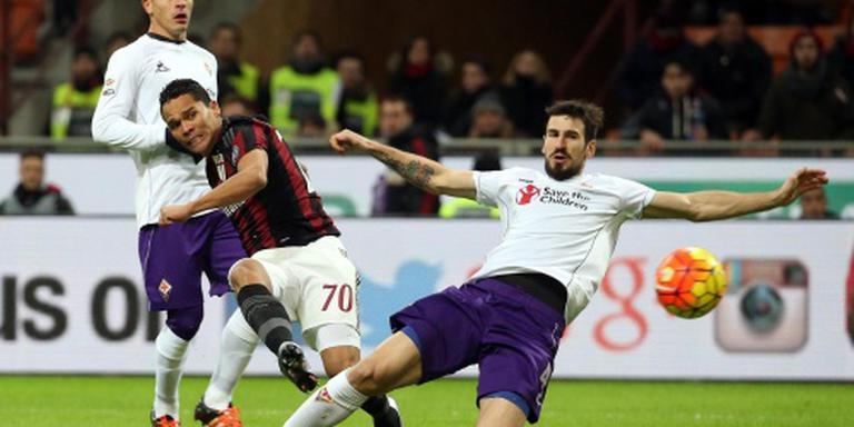 AC Milan sluit aan bij subtop