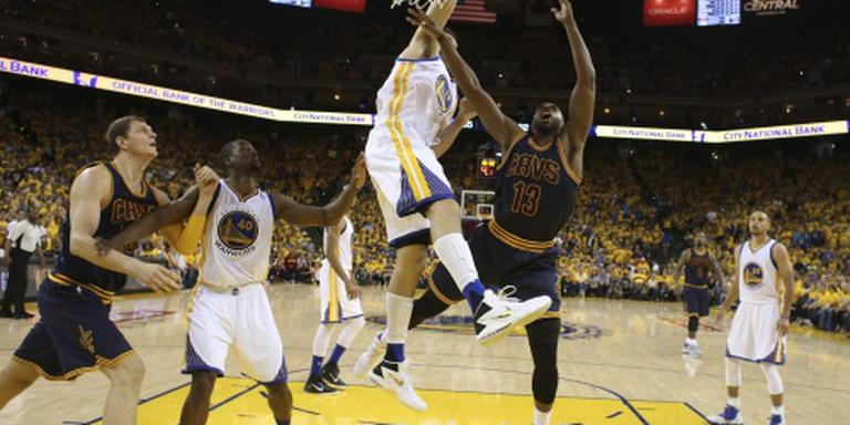 Warriors houden voorsprong vast in NBA-finale
