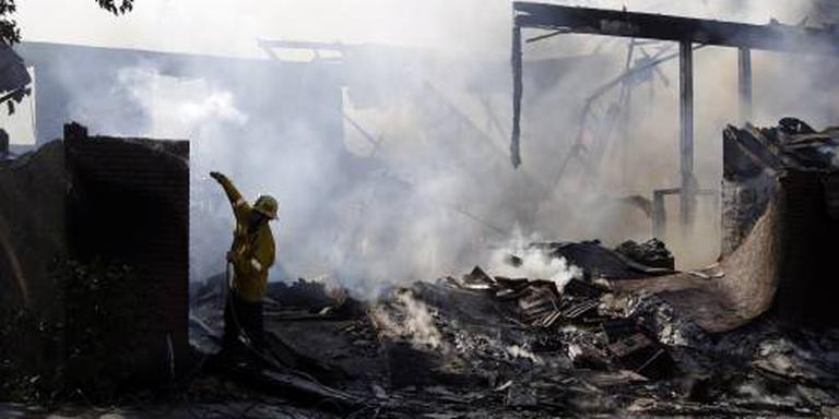 Bosbranden Californië breiden zich uit (2)