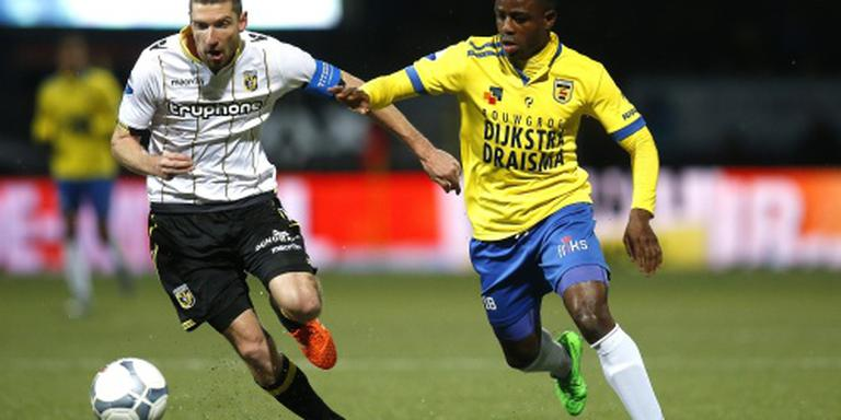 Maas debuteert met zege Vitesse op Cambuur