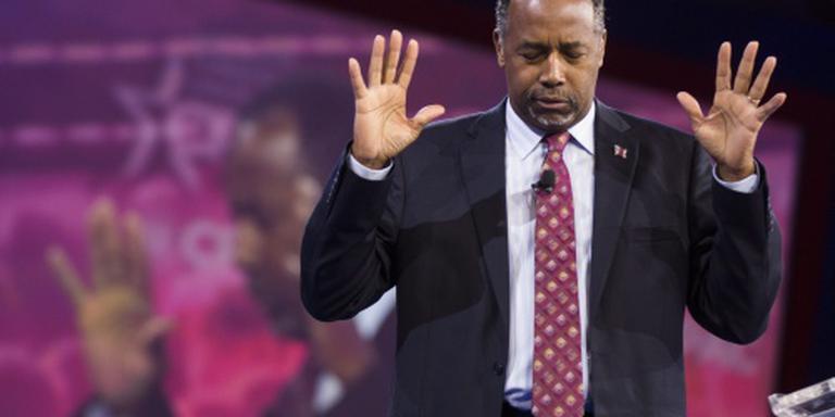 Oud-rivaal Carson steunt kandidatuur Trump