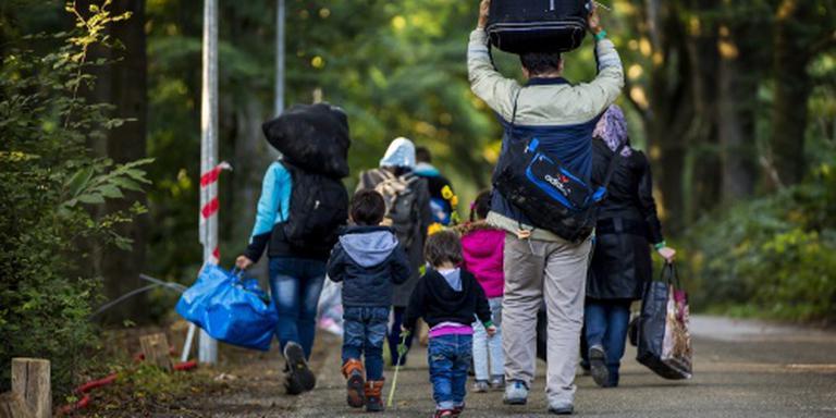 Vluchtelingen in Nederland. Foto ANP