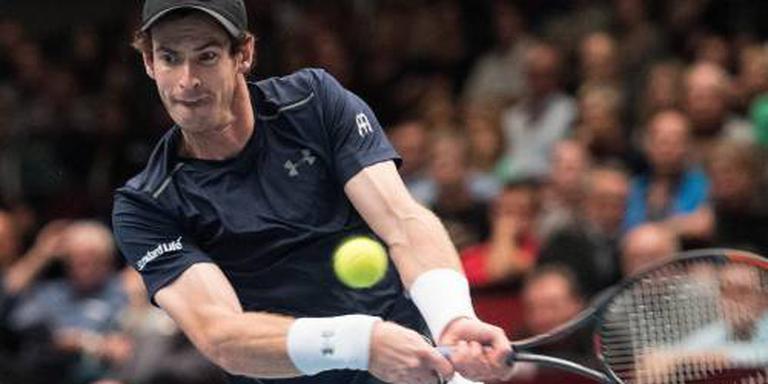 Murray naar kwartfinales in Wenen