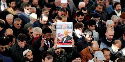 Gebedsdienst voor Khashoggi in moskee Istanbul