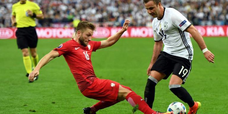 Duitsland en Polen scoren niet
