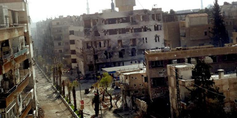 Daraya weer in handen Syrische regering