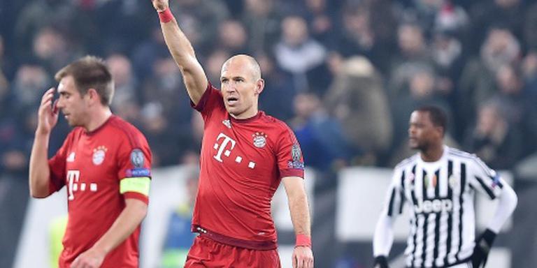 Guardiola rekent niet op Robben