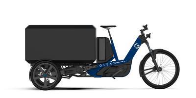 De Side Messenger e-bike van Gleam. Eigen foto