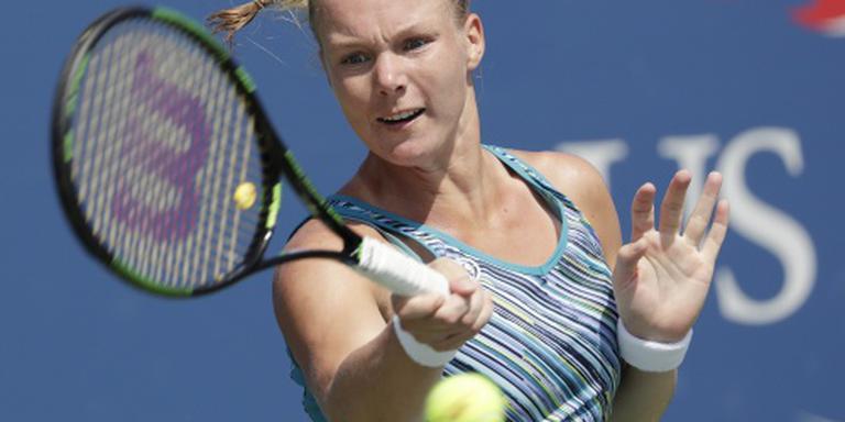 Oververmoeide tennisster Bertens neemt rust