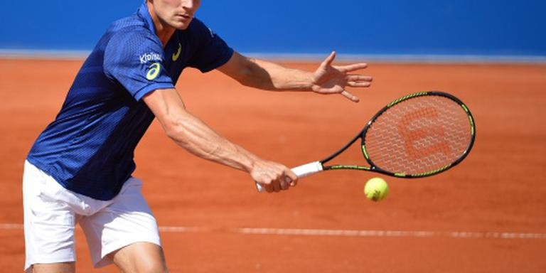 Goffin gunt Berdych geen game