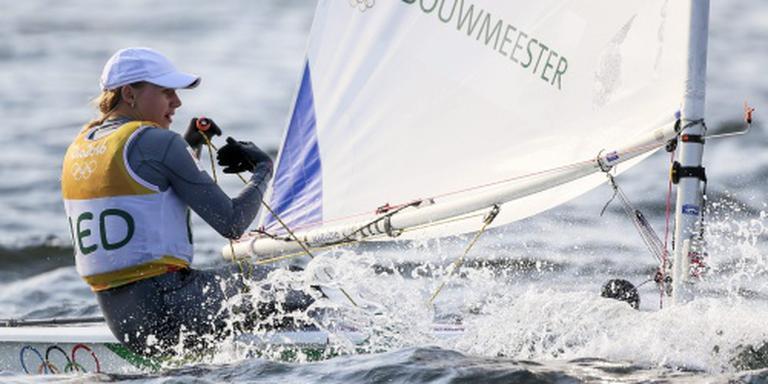Bouwmeester voorlopig tweede in Laser Radial