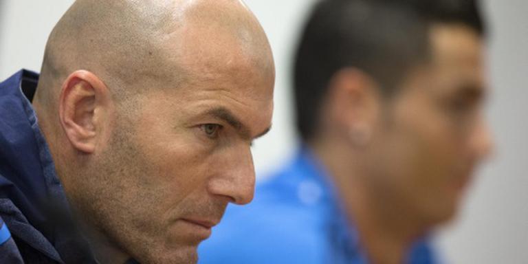 Zidane wil Ronaldo niet kwijt