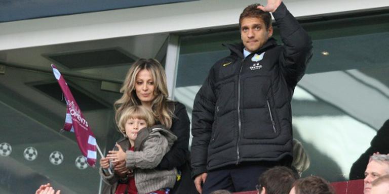 Petrov na leukemie terug bij Aston Villa