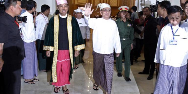 Thein Sein roemt rustige hervorming Myanmar