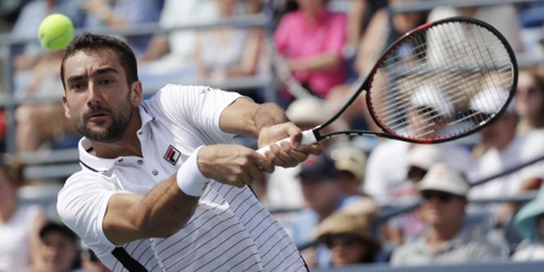 Cilic strandt in derde ronde US Open