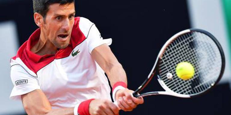 Eerste kwartfinale van dit jaar voor Djokovic