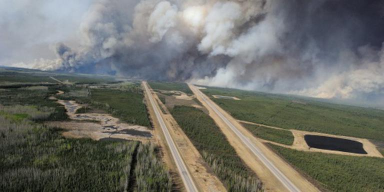 Brand rukt op naar Saskatchewan
