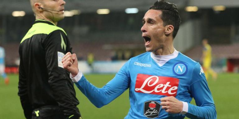 Napoli herstelt zich tegen Chievo