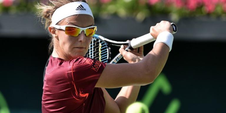 Tennisster Flipkens naar finale