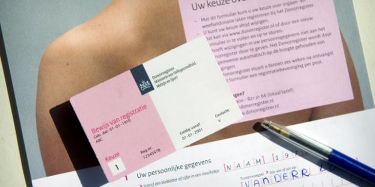 D66 wil donorplan vlot trekken