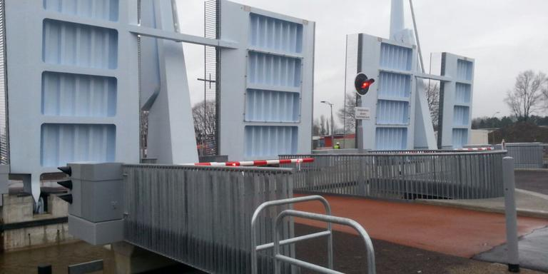 De Blauwe Klap is geopend. Foto Jolien Bennema
