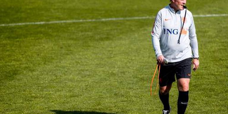 Oranje oefent tegen Slowakije