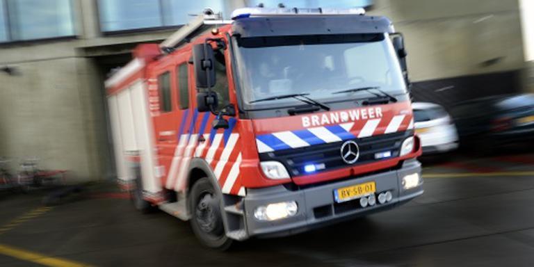 Paarden gered uit vlammenzee in Friese manege
