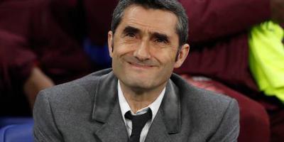 Valverde: Barça stond aan