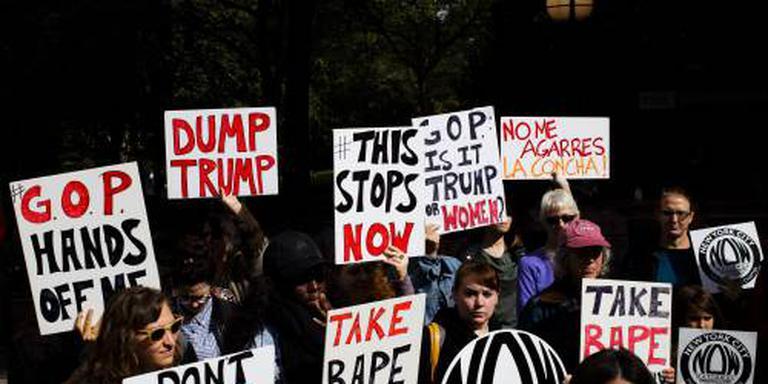 Trump haalt uit na verhalen over aanranding